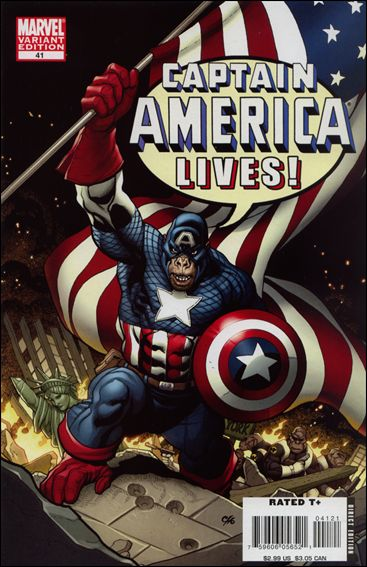 Captain America (2005) 41-B by Marvel