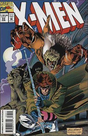 X-Men (1991) 33-A