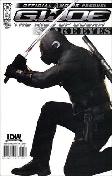 G.I. Joe Movie Prequel 4-B by IDW