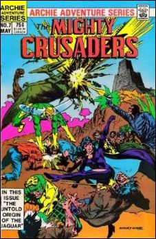 Mighty Crusaders (1983) 7-A by Red Circle