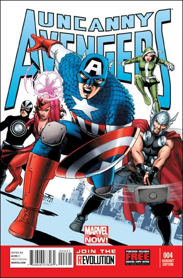 Uncanny Avengers 4-B by Marvel