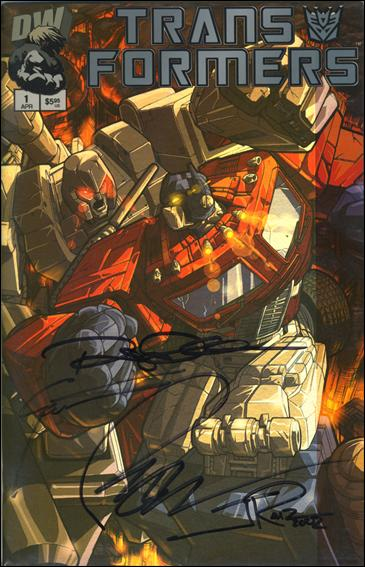 Transformers: Generation 1 (2002) 1-G by Dreamwave