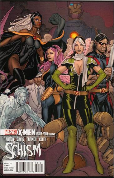 X-Men: Schism 4-B by Marvel