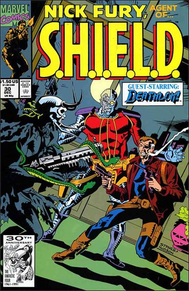 Nick Fury, Agent of S.H.I.E.L.D. (1989) 30-A by Marvel