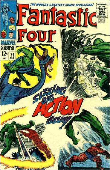 Fantastic Four (1961) 71-A by Marvel