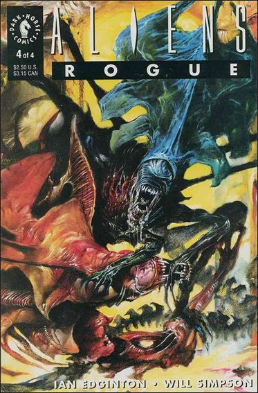 Aliens: Rogue 4-A by Dark Horse