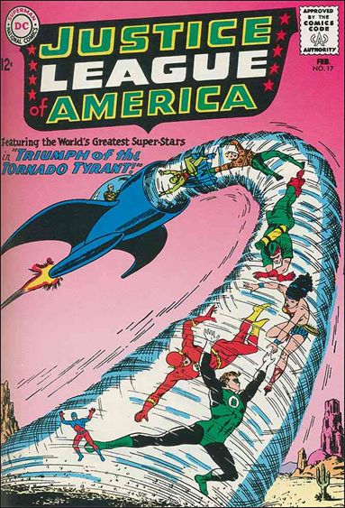 Justice League of America (1960) 17-A by DC