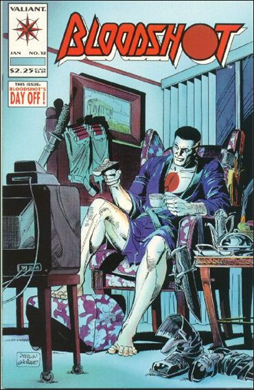 Bloodshot (1993) 12-A by Valiant