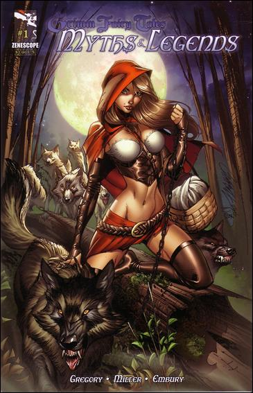 Grimm Fairy Tales Myths & Legends 1-A by Zenescope Entertainment