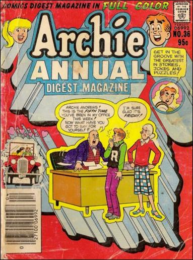 Archie Annual Digest Magazine 36-A by Archie