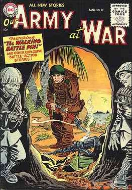 Our Army at War (1952) 37-A by DC