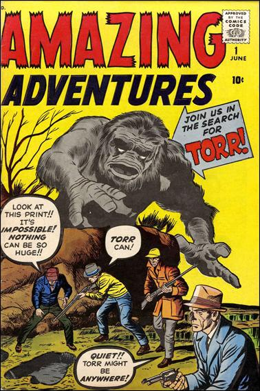 Amazing Adventures (1961) 1-A by Marvel