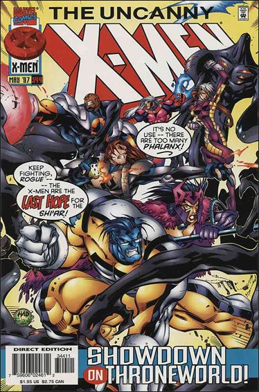 Uncanny X-Men (1981) 344-A by Marvel