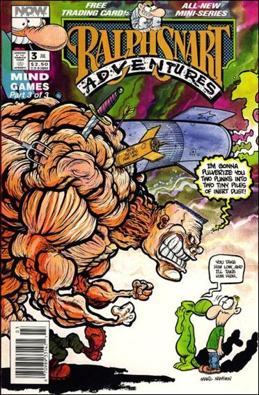 Ralph Snart Adventures (1992) 3-A by Now Comics