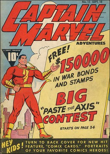 Captain Marvel Adventures 15-A by Fawcett