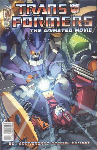Transformers: The Animated Movie 4-A by IDW