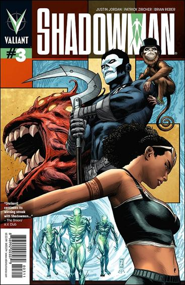 Shadowman (2012) 3-A by Valiant Entertainment