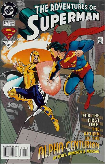Adventures of Superman (1987) 527-A by DC
