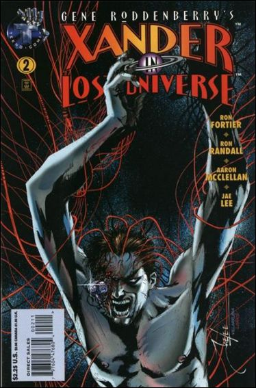 Gene Roddenberry's Xander in Lost Universe 2-A by Tekno•Comix