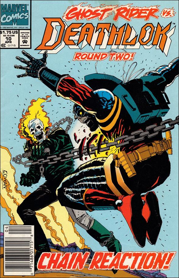 Deathlok (1991) 10-A by Marvel