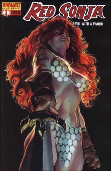 Red Sonja (2005) 1-D by Dynamite Entertainment