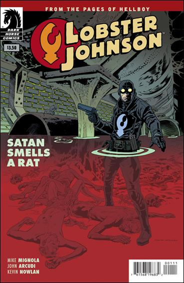Lobster Johnson: Satan Smells a Rat 1-A by Dark Horse
