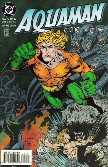 Aquaman: Time and Tide 3-A by DC