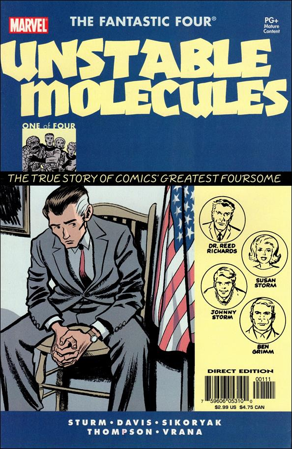 Startling Stories: Fantastic Four - Unstable Molecules 1-A by Marvel