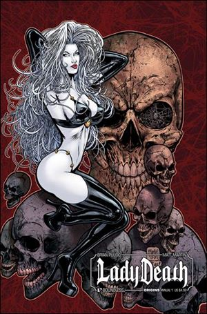 Lady Death Origins Annual 1-A