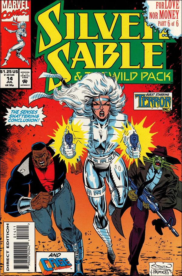 Silver Sable & The Wild Pack 14-A by Marvel