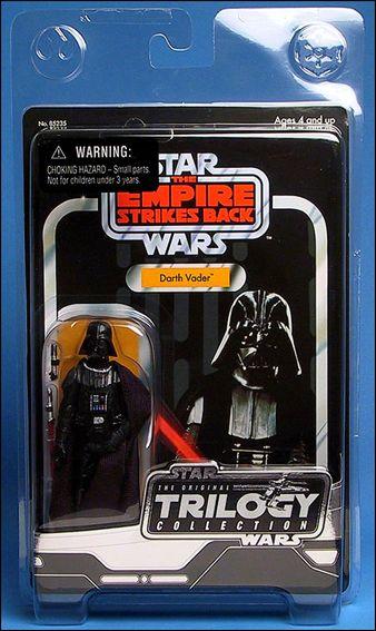 Star Wars Original Trilogy Coll Darth Vader Jan 2004 Action Figure By Kenner