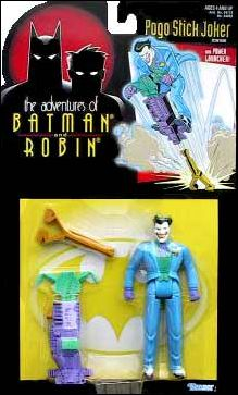 Adventures of Batman and Robin (Series 1) Joker (Pogo Stick) by Kenner