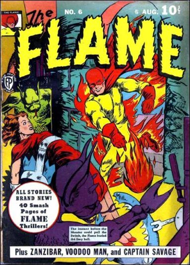 Flame (1940) 6-A by Fox