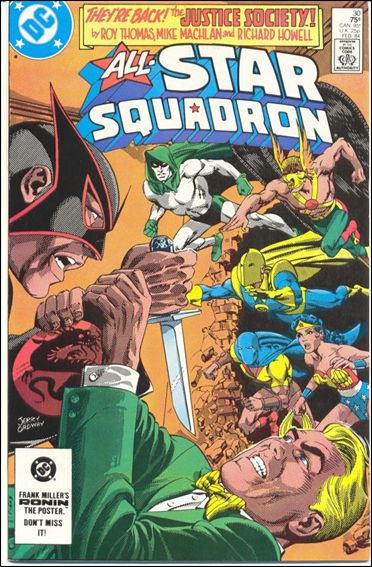 All-Star Squadron 30-A by DC