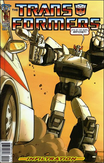 Transformers: Infiltration 2-C by IDW