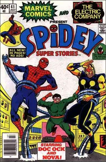 Spidey Super Stories 41-A by Marvel