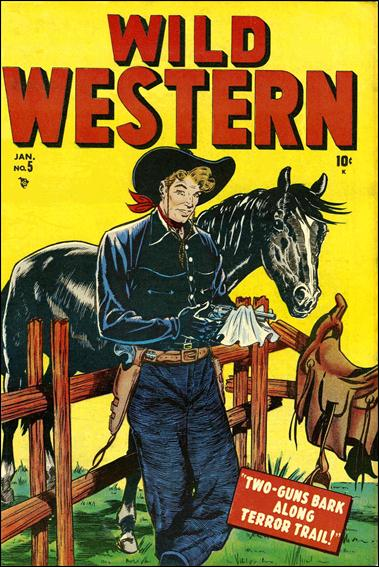 Wild Western 5-A by Marvel