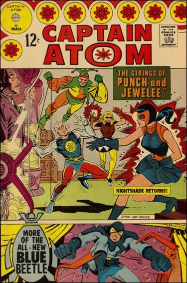 Captain Atom (1965) 85-A by Charlton