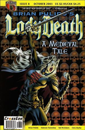 Brian Pulido's Lady Death: A Medieval Tale 8-A
