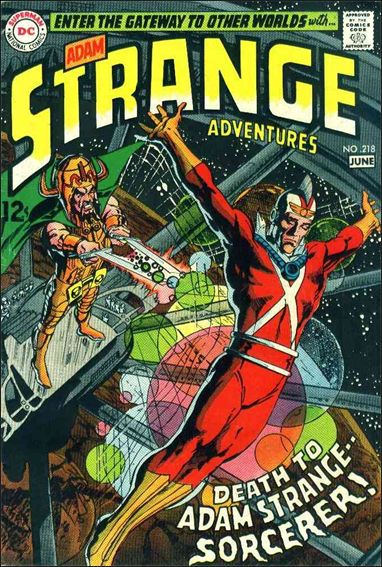 Strange Adventures (1950) 218-A by DC
