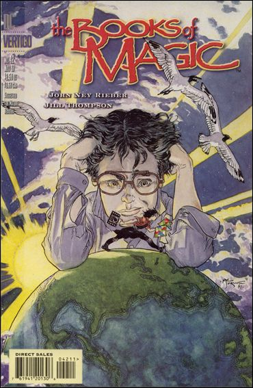 Books of Magic (1994) 42-A by Vertigo