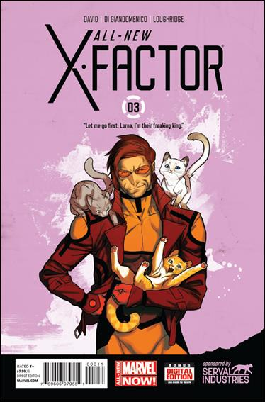 All-New X-Factor 3-A by Marvel