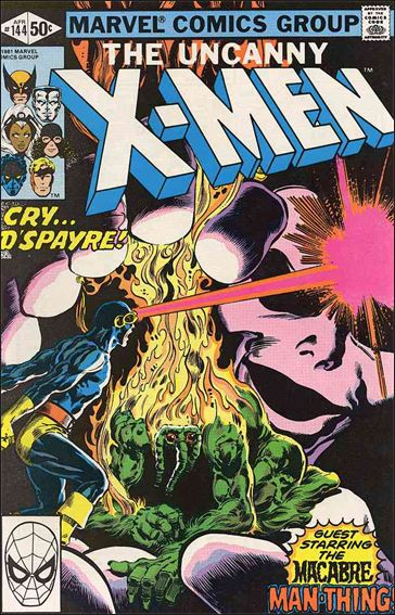 Uncanny X-Men (1981) 144-A by Marvel