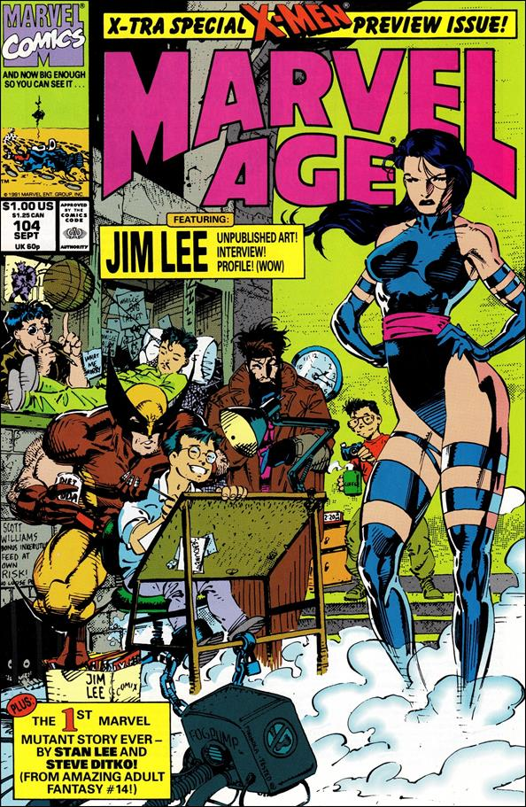 Marvel Age 104-A by Marvel