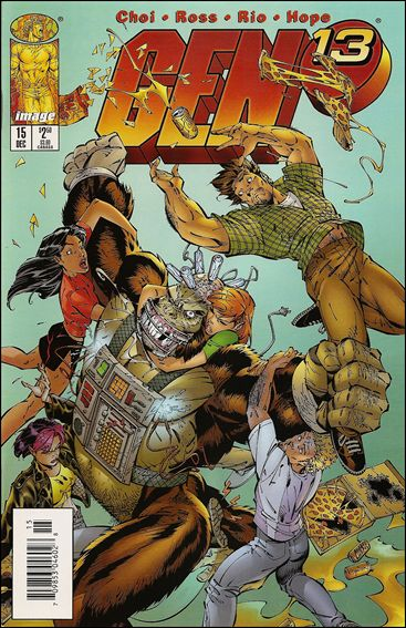 Gen13 (1995) 15-A by WildStorm