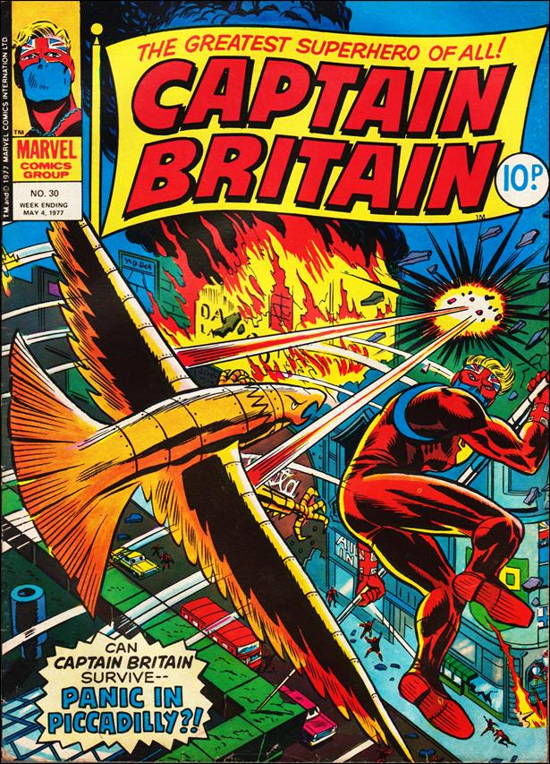 Captain Britain (UK) (1976) 30-A by Marvel UK