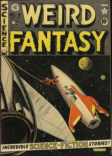 Weird Fantasy (1950) 9-A by E.C.
