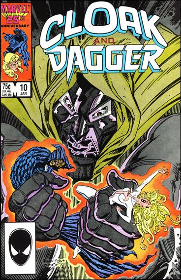 Cloak and Dagger (1985) 10-A by Marvel