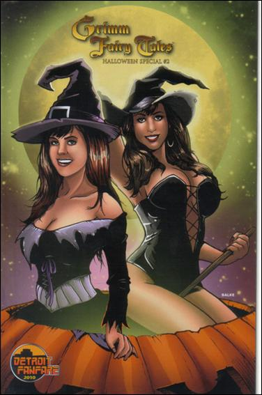 Grimm Fairy Tales: Halloween Special 2-E by Zenescope Entertainment