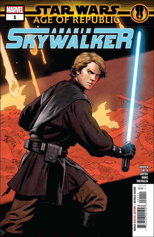 Star Wars: Age of Republic - Anakin Skywalker 1-A by Marvel